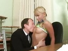 Sexy student gets a fix of hard teacher's rod