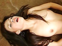 Brunette likes the cock up rectum