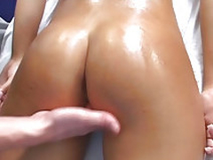 Sweet latina babe gets fucked