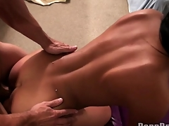 Busty darling gets mind-blowing cunt drilling
