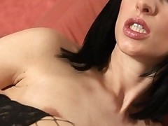 Lovely lesbos are having steamy sexy bawdy cleft playing time